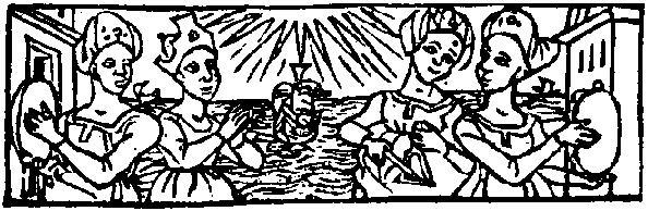 Medieval woodcut; detail from Sarum Horae, published in Paris by Pigouchet for Jean Richard in 1494