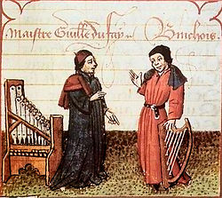 the composers Guillaume Dufay & Gilles Binchois