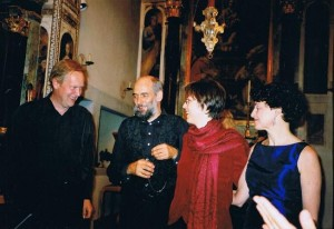 Per Amore Cantare, with Oswald Hebermehl, Pius Bessire & Illianna Meier, Boettstein, Switzerland, September 26, 2004.